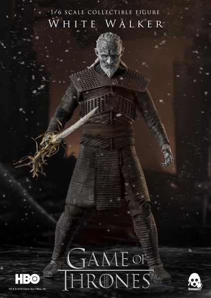ThreeZero Game of Thrones White Walker Deluxe 1/6 Collectible Figure Pre-Order - Maximus Collectors Toys & Gifts