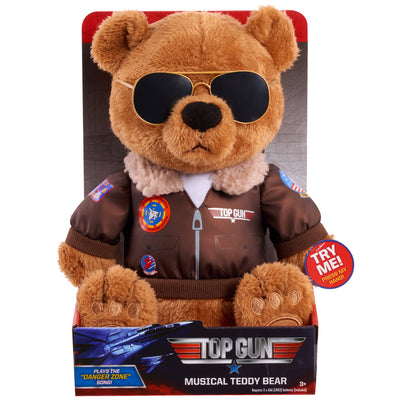 Top Gun - Musical Teddy Bear (Tom Cruise) Plays Song From Movie