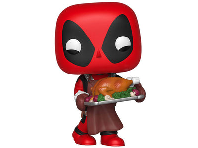 Pop! Marvel: Holiday - Deadpool With Turkey-Maximus Collectors