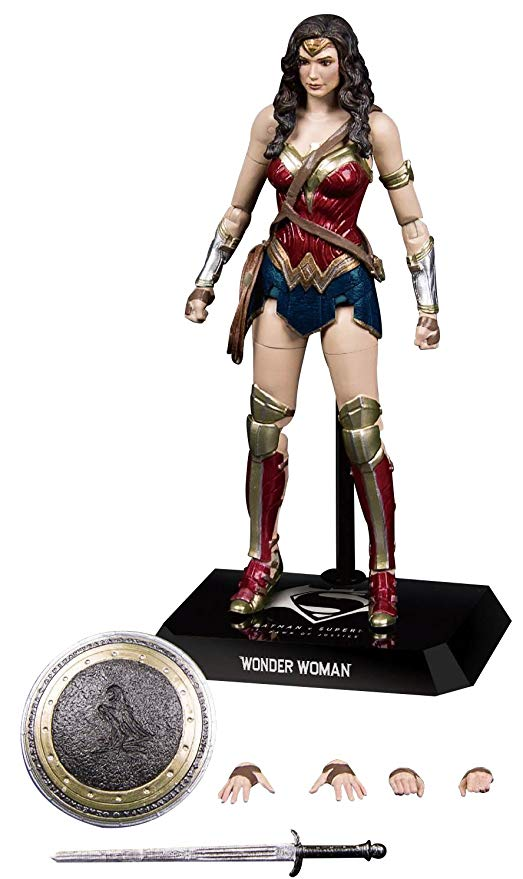 Beast Kingdom Batman V Superman: Dah-002 Dynamic 8Ction Heroes Wonder Woman Action Figure- maximus collectors toys and gifts