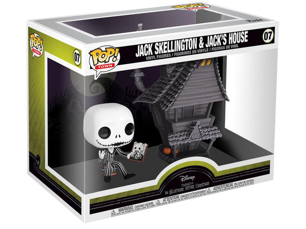 Pop! Town: The Nightmare Before Christmas - Jack with Jack's House-Maximus Collectors