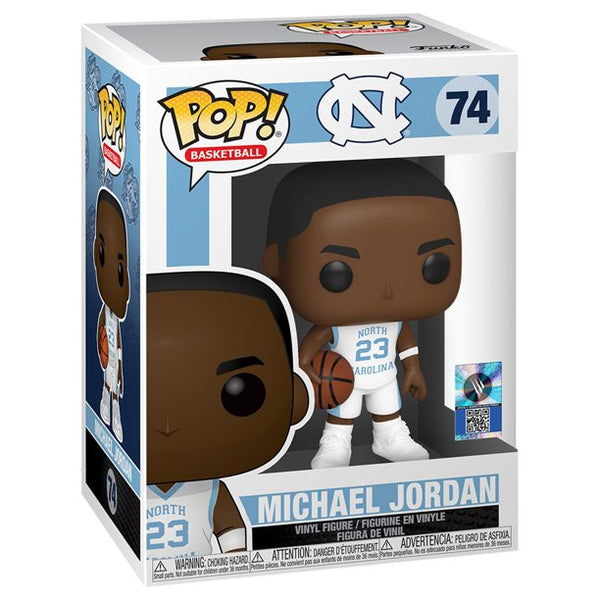 Funko Pop! Michael Jordan University North Carolina Away Jersey