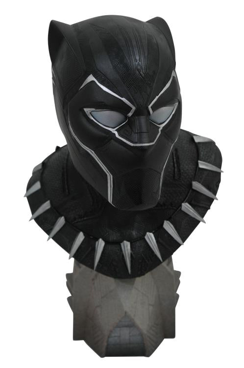Marvel Black Panther Legends in 3D Black Panther 1/2 Scale Limited Edition Bust