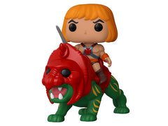 Funko Pop He Man Battle Cat Masters of the Universe Vinyl Figure