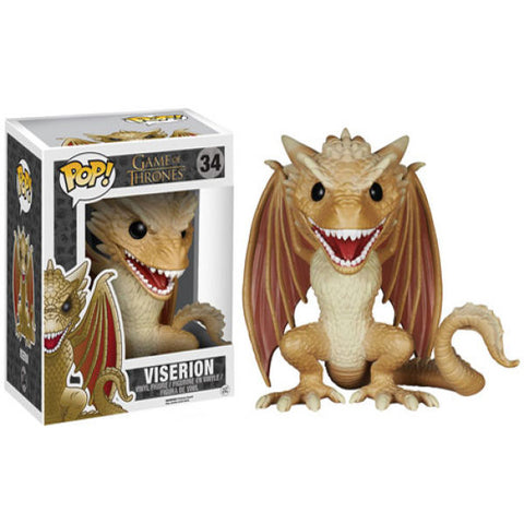 Funko Pop! Game of Thrones Super Sized Viserion 6 inch Figure