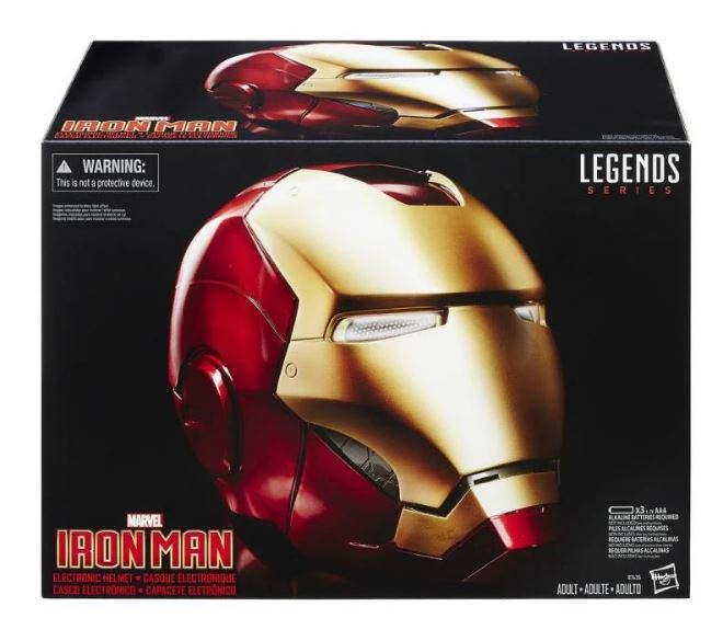 Marvel Legends Iron Man 1:1 Scale Wearable Electronic Helmet