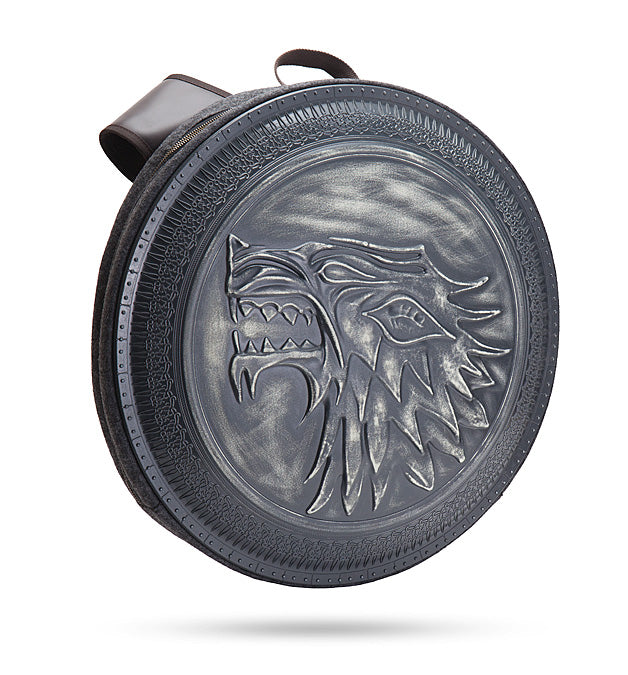 HBO Game of Thrones Stark Shield Laptop Book Bag Novelty Gift Cosplay