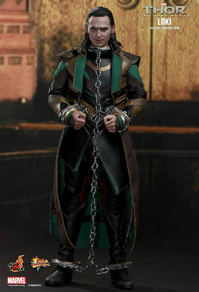 Hot Toys - Thor Dark World - Loki 1/6 Scale Action Figure