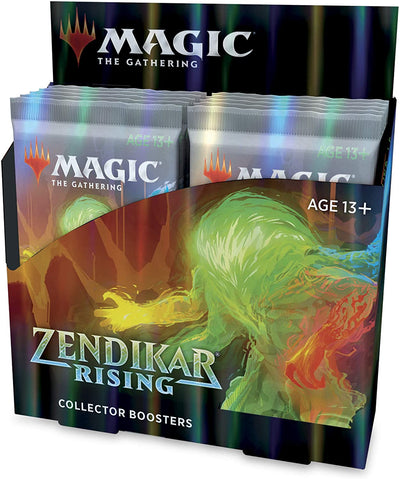 Magic the Gathering Zendikar Rising - Collector Booster Box (12 Packs)