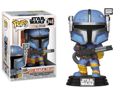 Funko Pop!: Star Wars The Mandalorian - Heavy Infantry Mandalorian #348