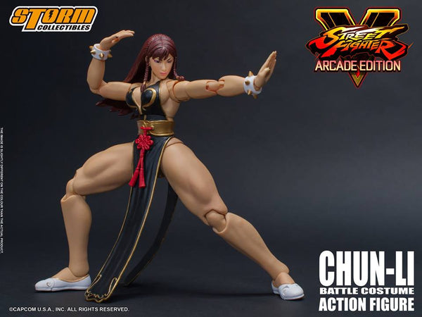 Street Fighter V Chun-Li (Arcade Edition) 1/12 Scale NYCC 2018 Exclusive Figure-Maximus Collectors