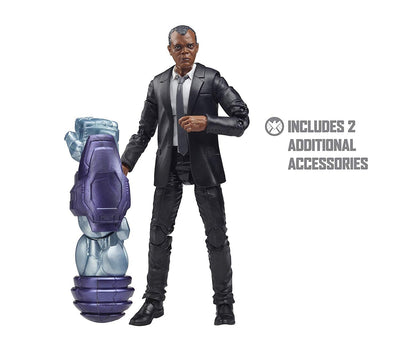 CAPTAIN MARVEL (KREE SENTRY BAF) MARVEL LEGENDS WAVE NICK FURY - maximus collectors toys and games