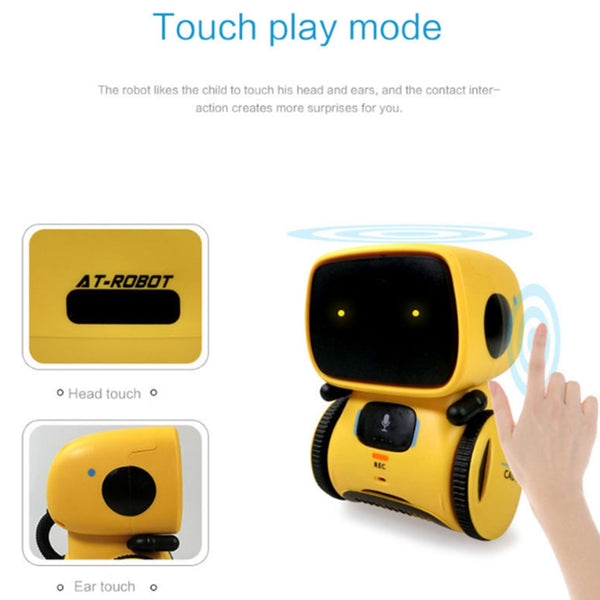 Kids Interactive Voice Command Smart Robot Toy