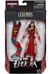 Marvel Legends Elektra 6 Inch Action Figure Spider-Man Wave 10 - Maximus Collectors Toys & Gifts
