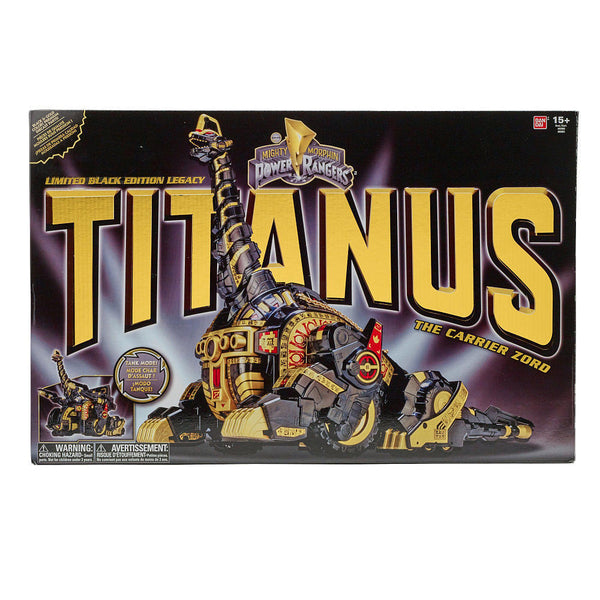 Power Rangers Legacy Titanus Ultrazord Black and Gold Limited Edition - Maximus Collectors Toys & Gifts