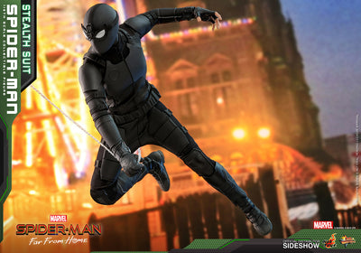 Spider-Man: Far From Home MMS540 Spider-Man (Stealth Suit aka Night Monkey) 1/6th Scale Collectible Figure