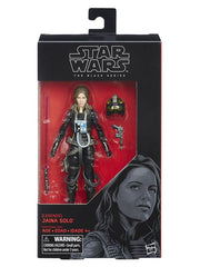 "Star Wars: The Black Series 6"" Jaina Solo (Expanded Universe)-Maximus Collectors"