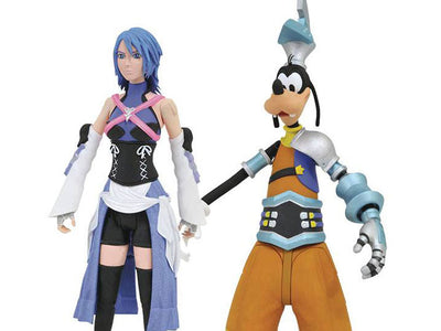 Kingdom Hearts Select Aqua & Goofy (Birth by Sleep)-Maximus Collectors