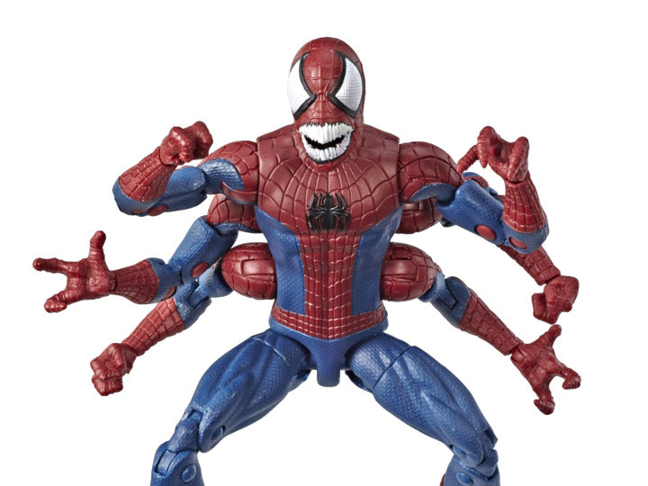 Spider-Man Marvel Legends Doppelganger Spider-Man (Molten Man BAF)-Maximus Collectors