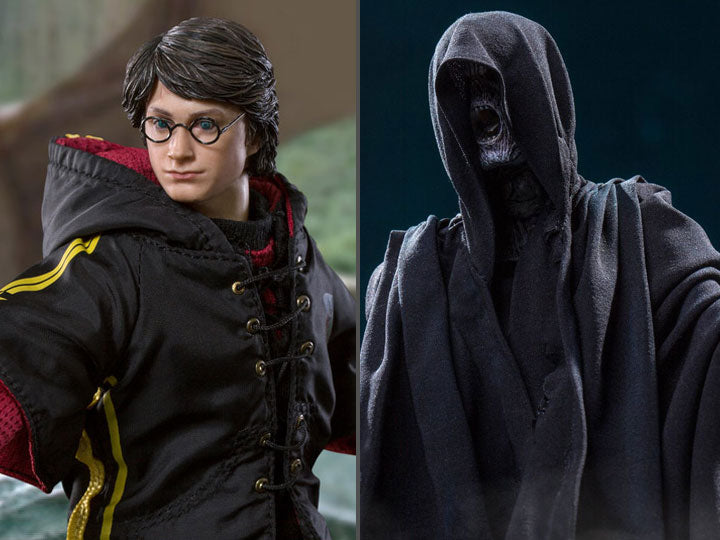 Harry Potter and the Goblet of Fire Dementor & Harry Potter 1/8 Scale Figure Two-Pack-Maximus Collectors