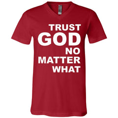 Men's Christian V-Neck T-Shirt