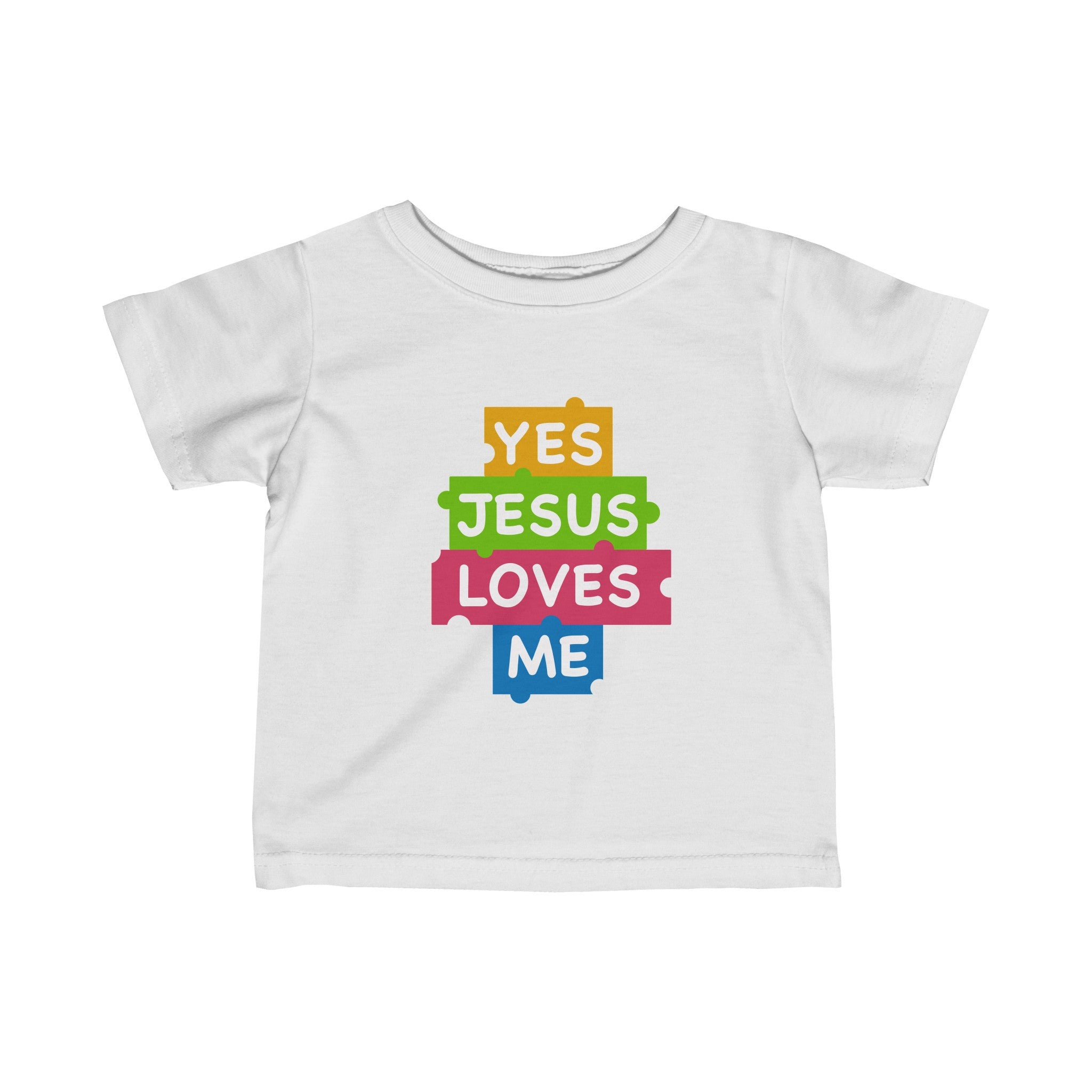Yes Jesus Loves Me (Infant Fine Jersey Tee)