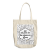 Let All You Do Be Done In Love Cotton Tote Bag