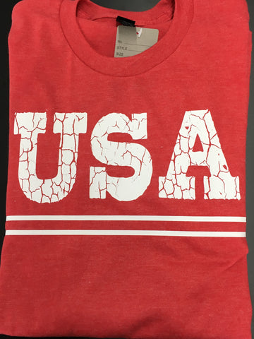July 4th - Distressed USA