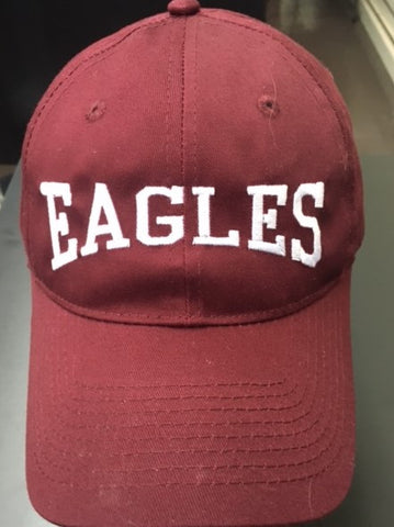 Fairfield - Embroidered Maroon Arched Eagles Cap