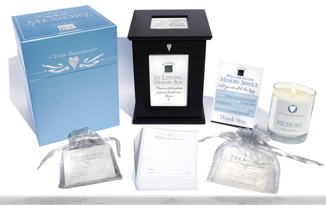 In Loving Memory Box - Memorial Service Kit