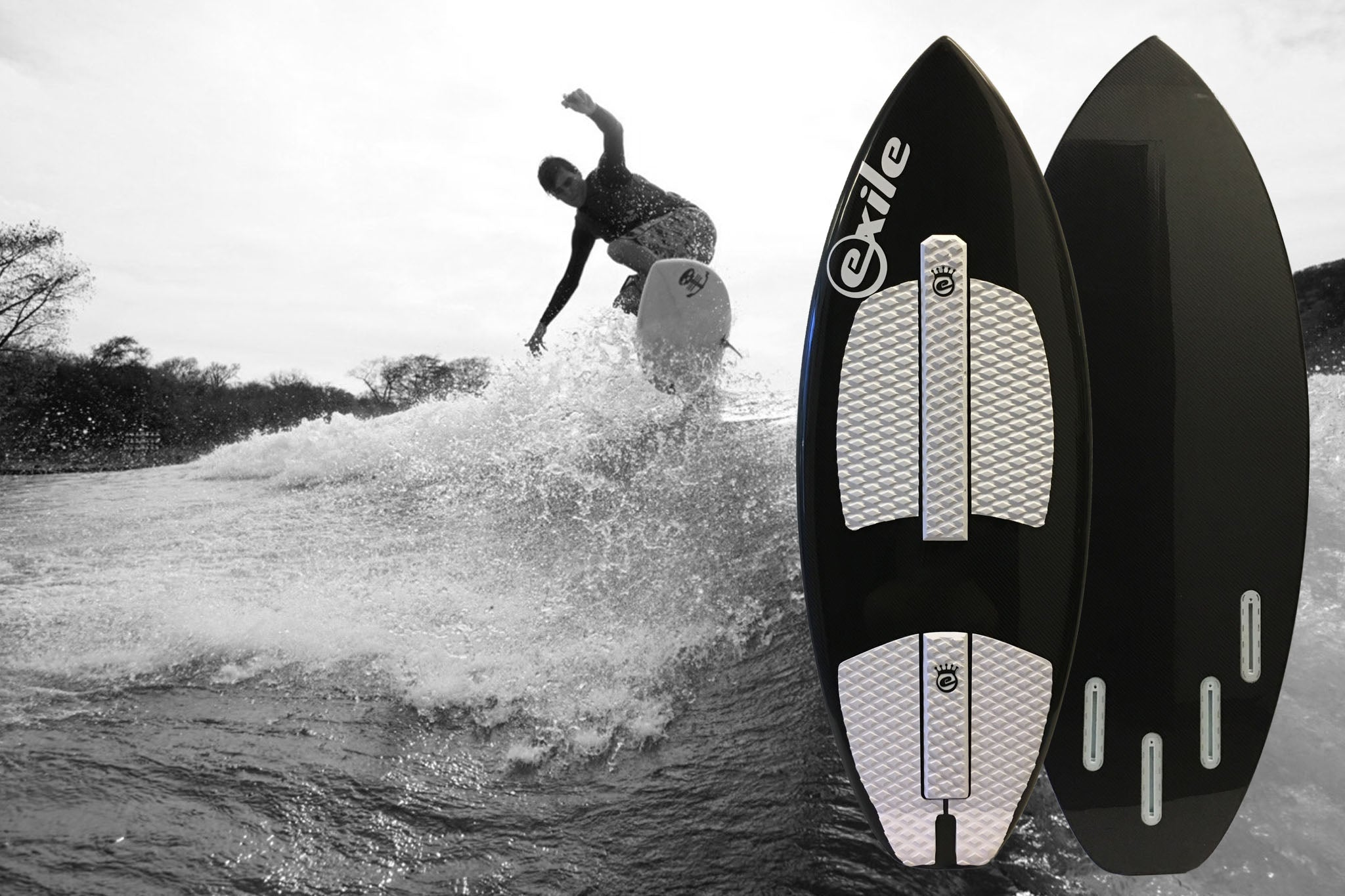 Exile Introduces It's First Surf Style Wakesurfer