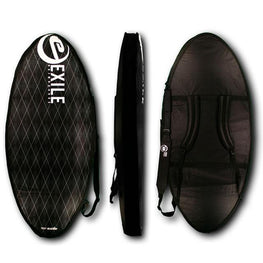 Deluxe Skimboard Travel Bag Travel Bags exileskimboards Black
