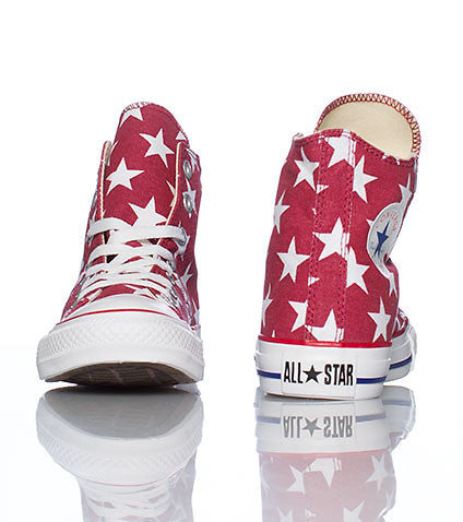 Converse Chuck Taylor All Star Hi Flag Jester Red White 136615F