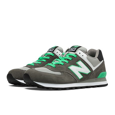 New Balance 574 Sneakers Dark Grey/Green/White ML574CPF