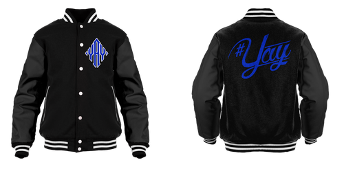 Classic Yay Diamond Logo Varsity Jacket