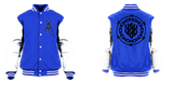 New Barbed and Chained Yay Monogram Logo Varsity Jacket
