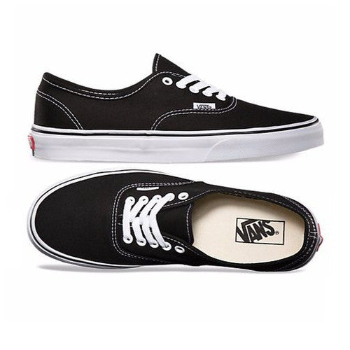 Vans Unisex Authentic Slim Sneakers VN000EE3BLK