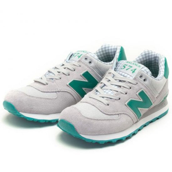 new balance 574 green and grey