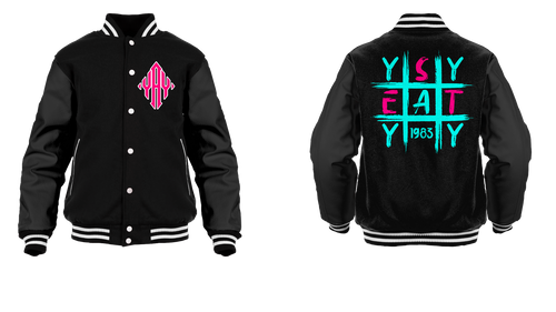 Tic Tac Yay Diamond Logo Varsity Jacket