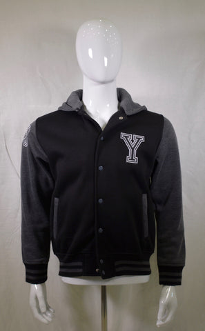 JFK NYC BG Yay Monogram Logo Varsity Jacket