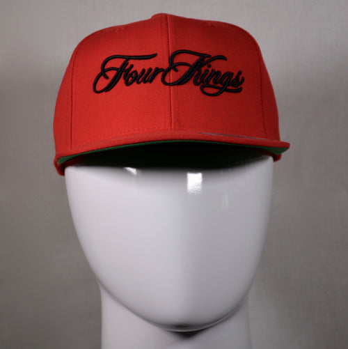 Four Kings Script Snapback Hat
