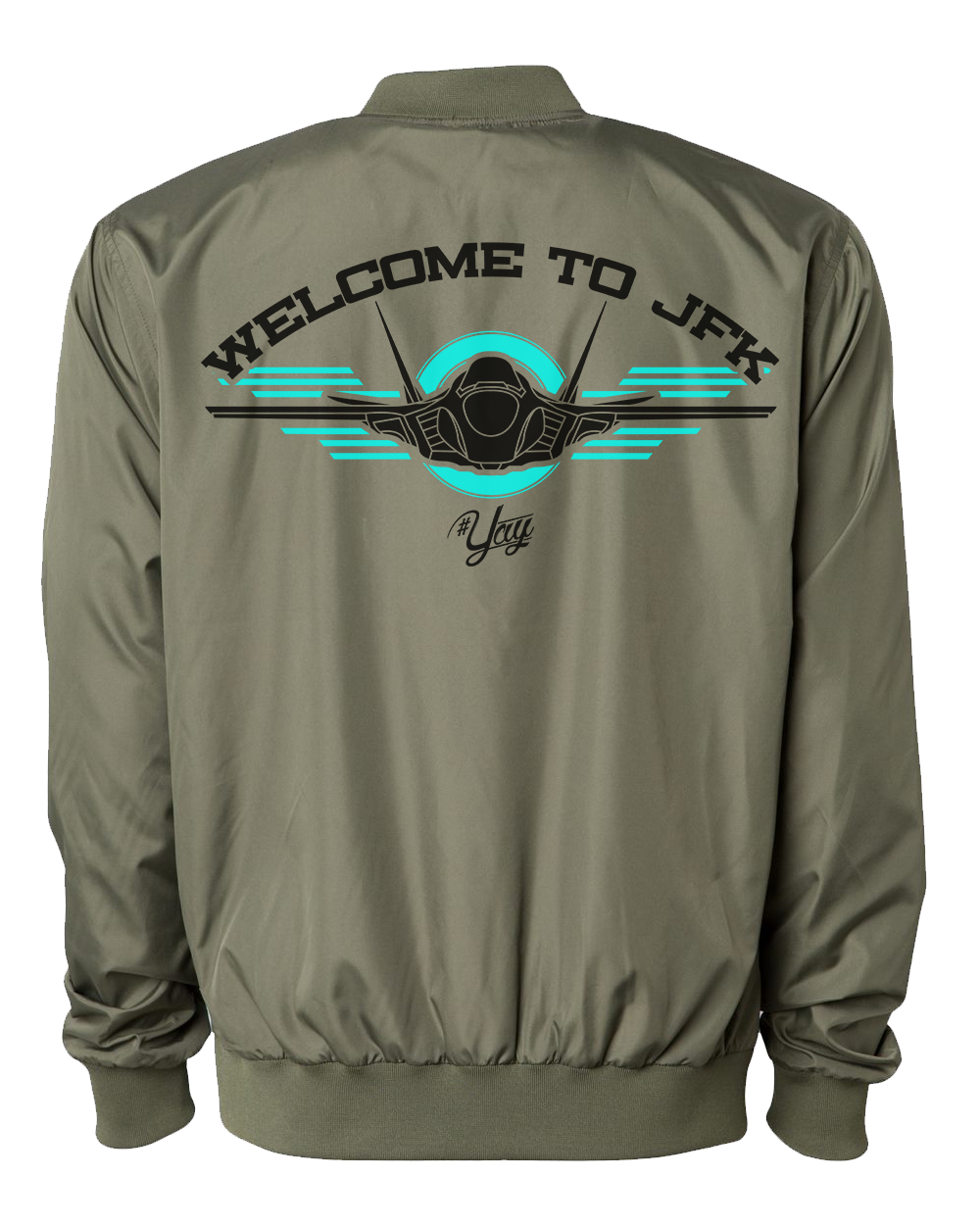 Mono YAY JFK JET 1 Bomber Jacket (Army Green)