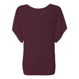 Chrisette Michelle Richhipster Belle Women's Flowy Draped Sleeve Dolman Tee