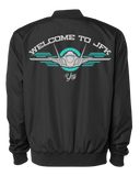 Diamond YAY JFK JET 1 Bomber Jacket (Black)