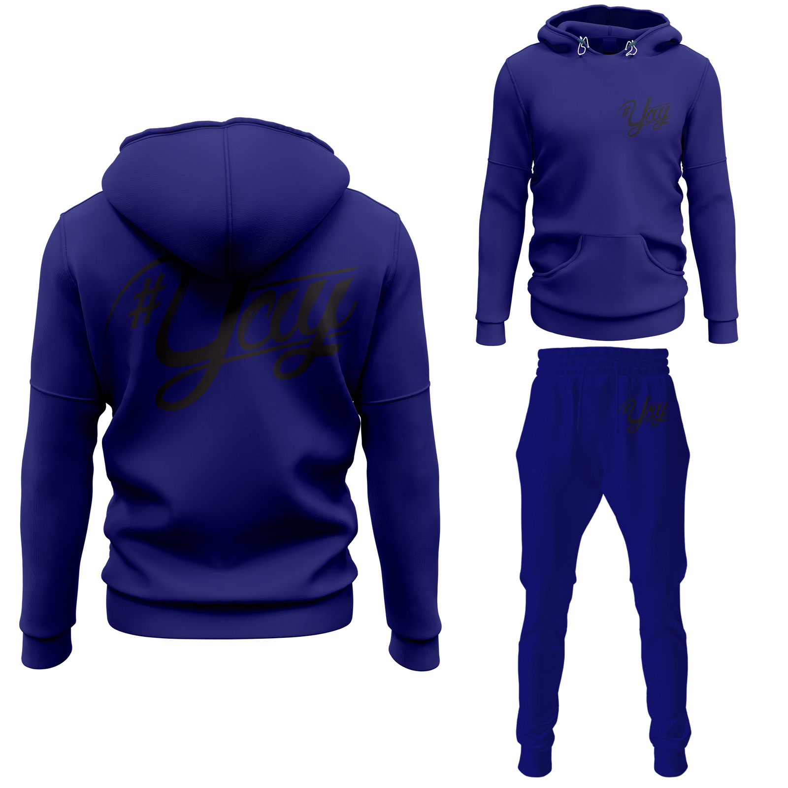 Mens Classic Yay Pullover Sweatsuits
