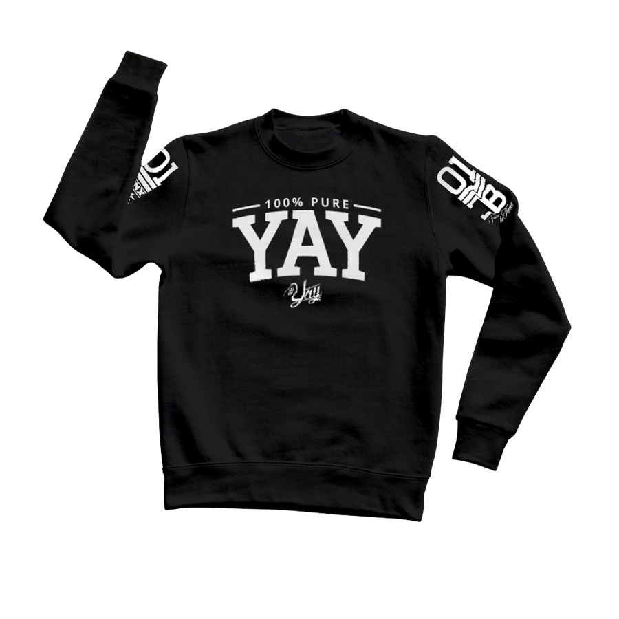 Chinx 01 YAY Crew Neck Sweat Shirt