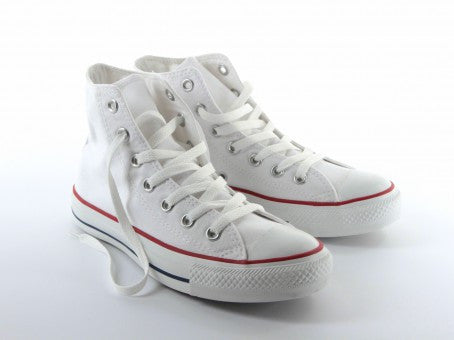 96d108bca442 ... Converse Chuck Taylor All Star Shoes (M7650) Optical White Hi Top ...
