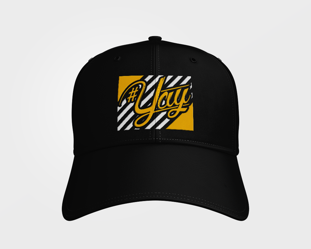 Stripes YAY Dad Hat