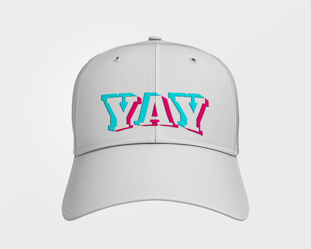 Glitch YAY Dad Hat