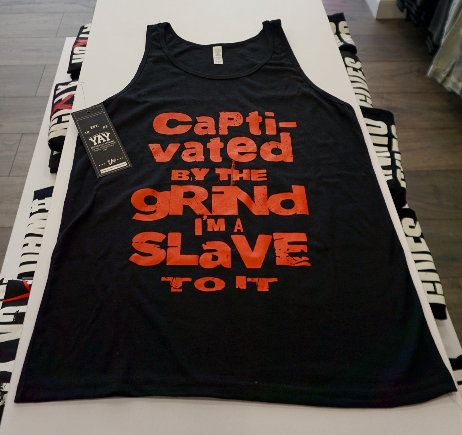 Captivated By The Grind Tank Top